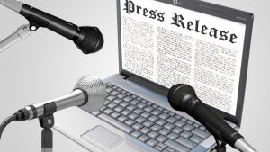 Press release writer