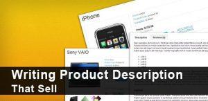 Product description writers